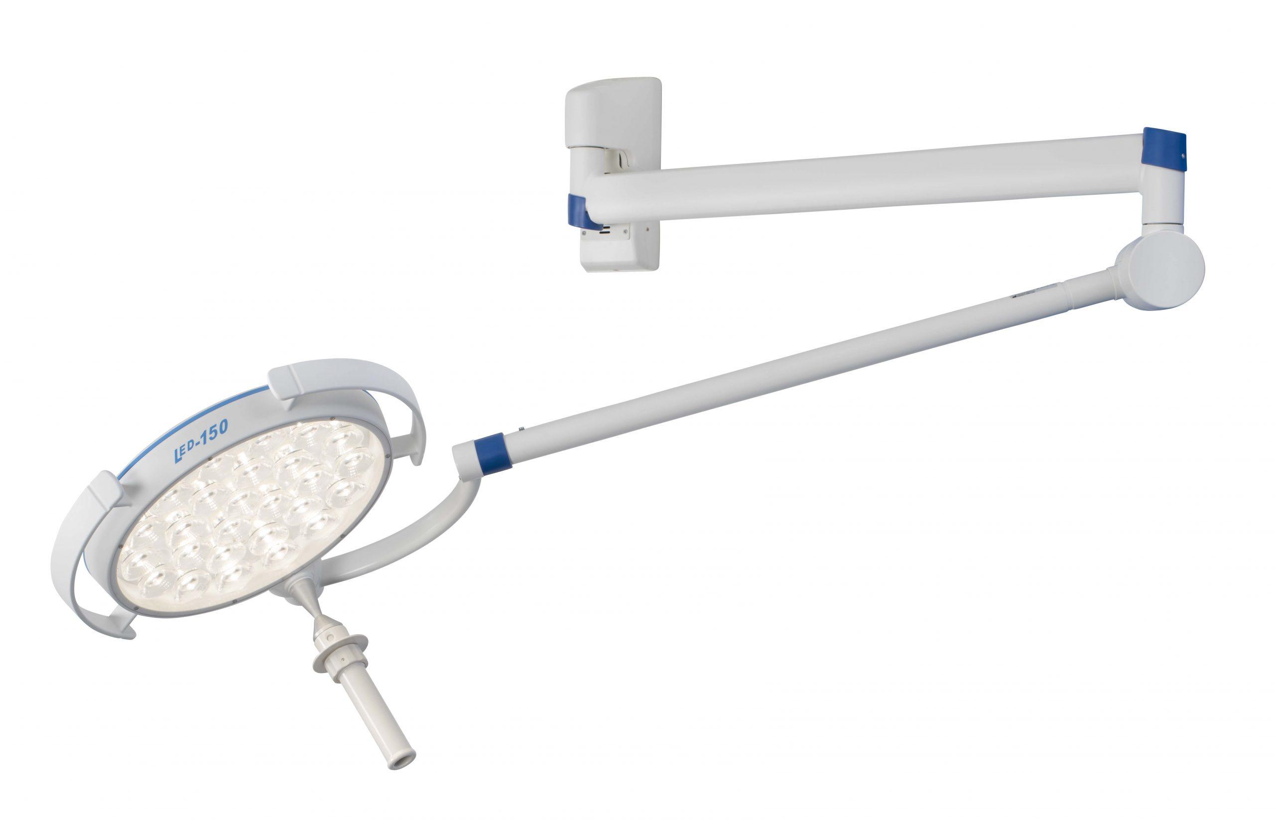 Onderzoekslamp-LED150-Swing-Wandmodel