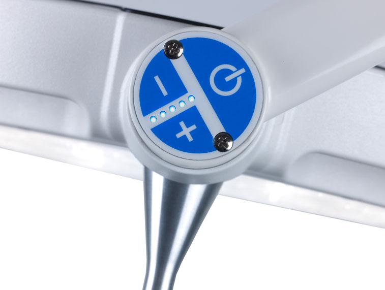 Onderzoekslamp-LED120-Bedieningspaneel