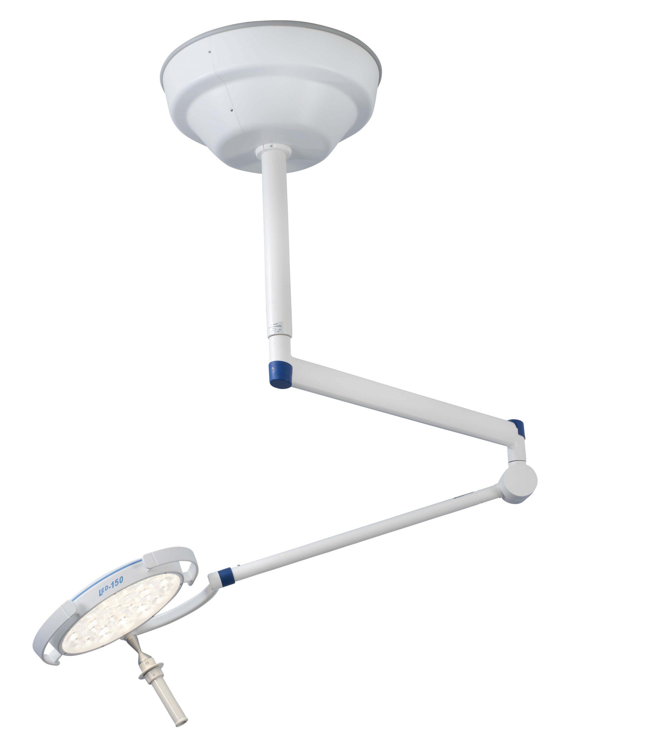 Onderzoekslamp-LED150-Swing-Plafondmodel
